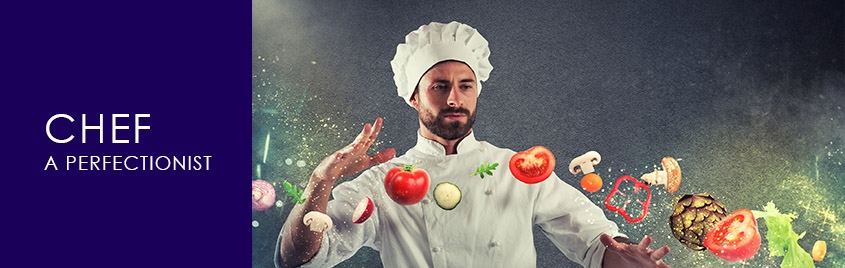 Chef - The Perfectionist, authored by Chef Virender S Datta